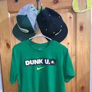 "Nike Oregon Ducks ""Dunk U"" Tee Size Large"